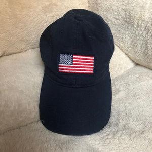 Old Navy Accessories - Old Navy USA Patriotic Flag Adjustable Buckle Hat
